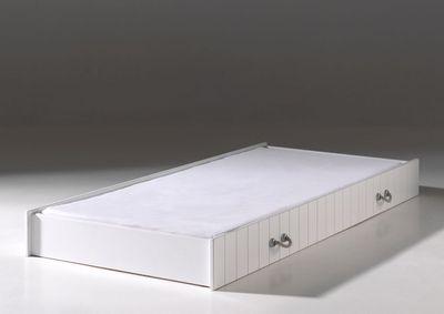 """Jugendzimmer-Set """"Casch XIII"""" - in Weiß - geplankte Optik – Bild 3"""