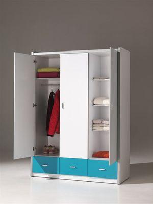 """3trg. Kleiderschrank """"Mirul"""" - in vielen Farbvarianten – Bild 8"""
