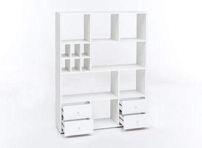"""Raumteiler """"Yino"""" - in weiß oder beton – Bild 4"""