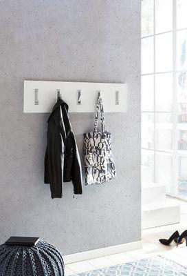 """Garderobenpaneel """"Tins II"""" -  in weiß, Grafit oder Sonoma Eiche Nachbildung – Bild 7"""