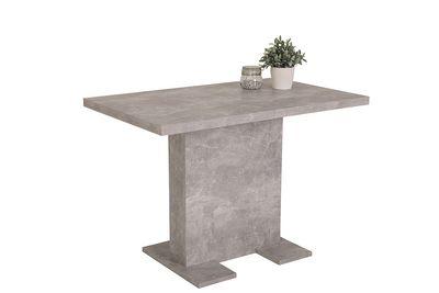 "Säulentisch ""Andy I"" - in Beton Optik – Bild 1"