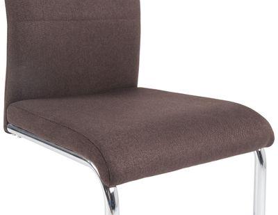 "Schwingstuhl Set ""Succi"" -  in dunkel grau oder dunkel braun – Bild 4"