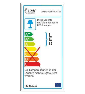 """Wohnwand """"Siste 2"""" -  in Weiß Hochglanz mit Applikation Beton Atelier NB – Bild 7"""