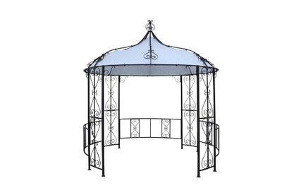 "Pavillon ""Castel"" - in schwarz – Bild 2"
