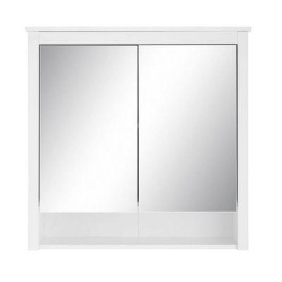 """Badezimmer-Spiegelschrank """"Milow X"""" - in weiß melamin – Bild 3"""