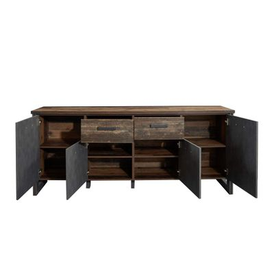 "Sideboard ""Dicson"" - in Old Wood NB / Absetzungen Martera NB – Bild 6"
