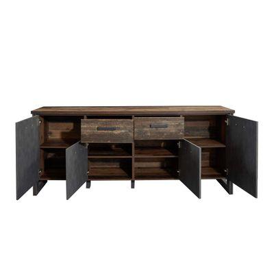 "Sideboard ""Dicson"" - in Old Wood NB / Absetzungen Martera NB – Bild 6"