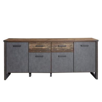 "Sideboard ""Dicson"" - in Old Wood NB / Absetzungen Martera NB – Bild 5"