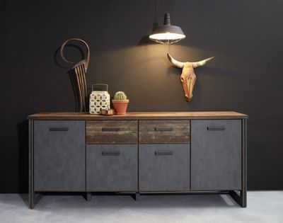 "Sideboard ""Dicson"" - in Old Wood NB / Absetzungen Martera NB – Bild 1"