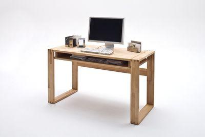 Schreibtisch Kerstin, Kernbuche od. Asteiche massiv – Bild 4