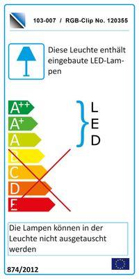"Regal / Raumteiler ""Square"" weiß o. schwarz hochglanz, optional LED-RGB-Beleuchtung – Bild 3"