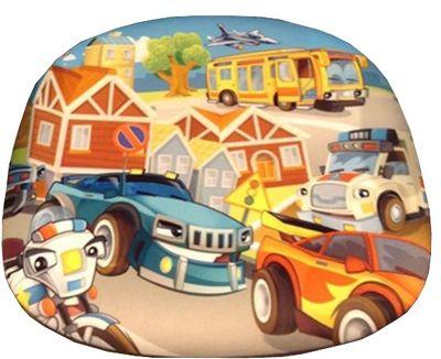 Kinderdrehstuhl Road mit Motiv, bunt – Bild 2