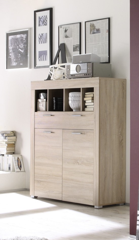 dreams4home kommode base anrichte sideboard wohnzimmer. Black Bedroom Furniture Sets. Home Design Ideas