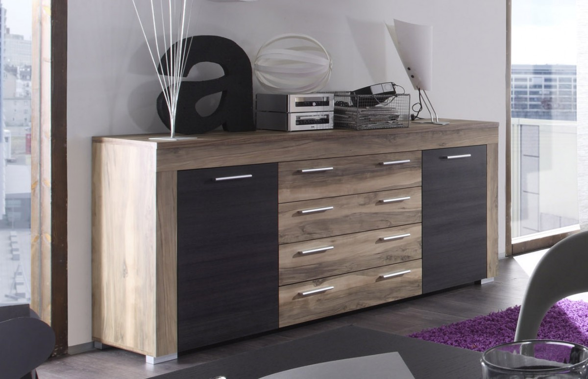 Dreams4home Sideboard Base Anrichte Wohnzimmer Highboard Kommode