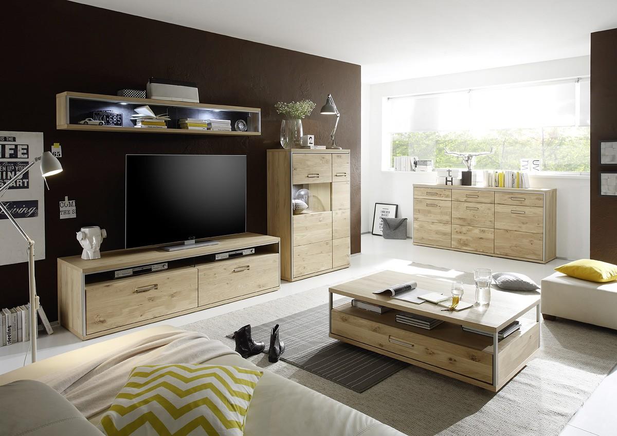 dreams4home couchtisch adeline eiche bianco furniert. Black Bedroom Furniture Sets. Home Design Ideas