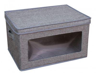 """Aufbewahrungsbox """"Rudolf I"""" - in grau oder braun – Bild 1"""