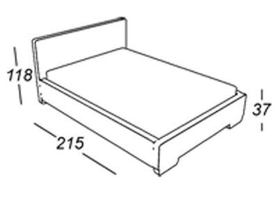 "Boxspringbett ""Rondo"" inkl. Topper grau, verschiedene Größen – Bild 2"