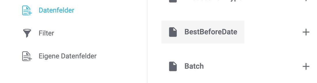 Das Datenfeld BestBeforeDate in den Datenformaten.