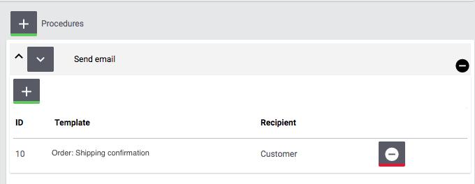 eBay Fulfillment settings procedure send email