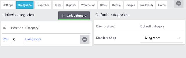 Checklist Categories Linked