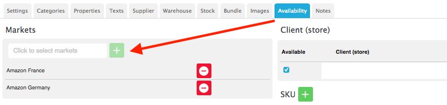 Marketplace availability