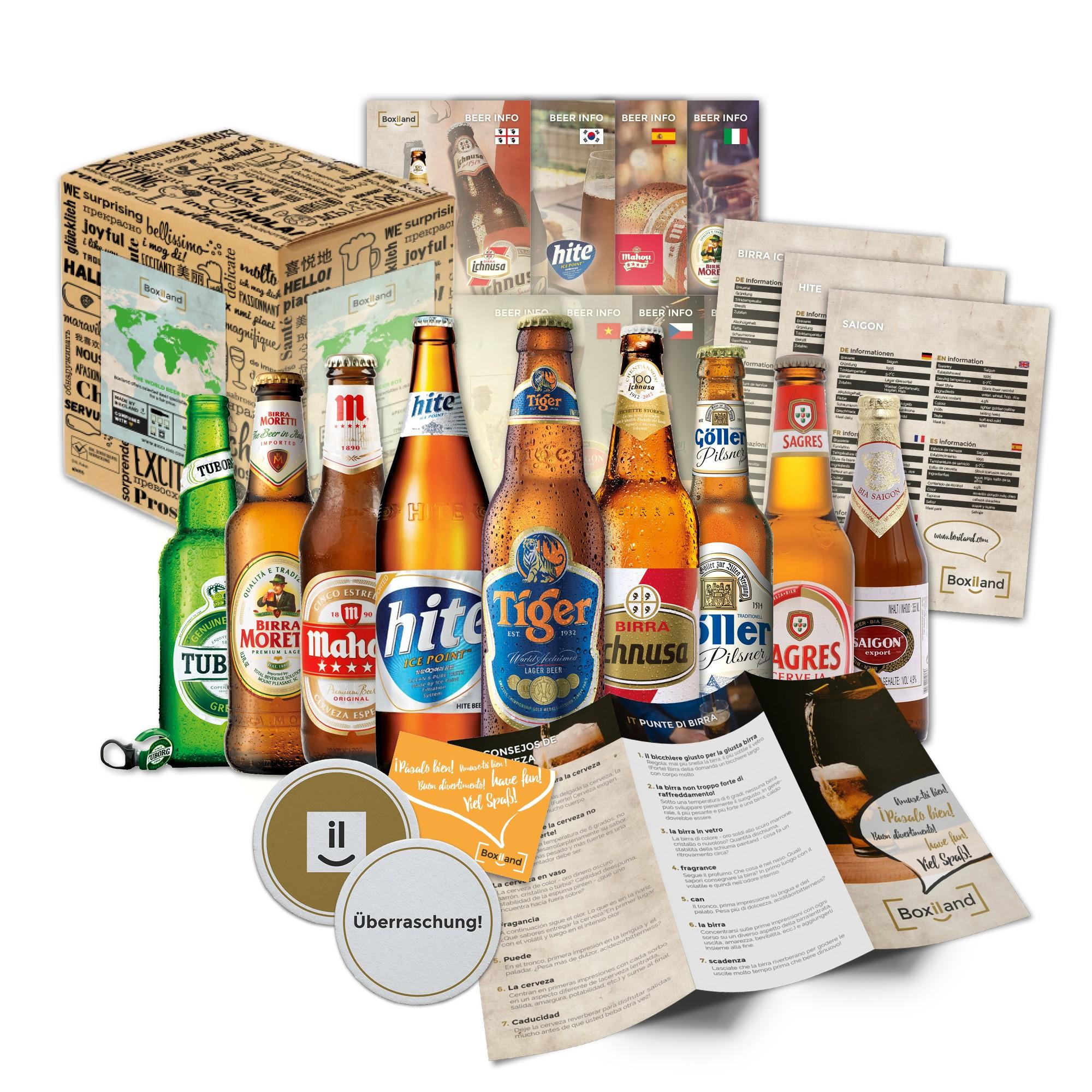 Bier geschenk at