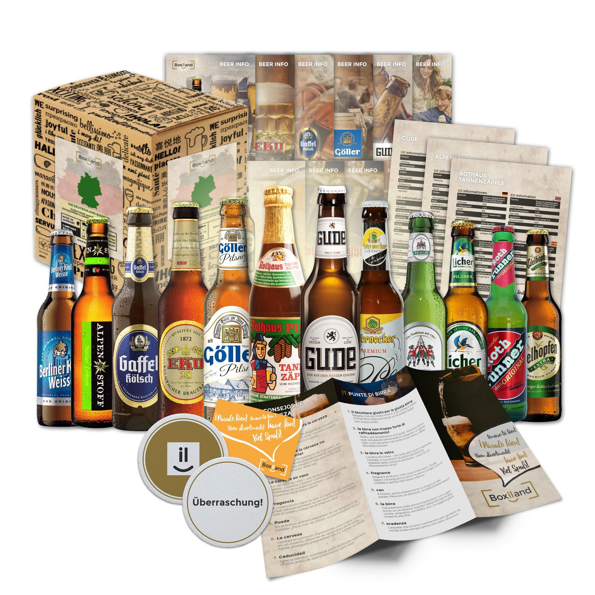 Geschenk bier box