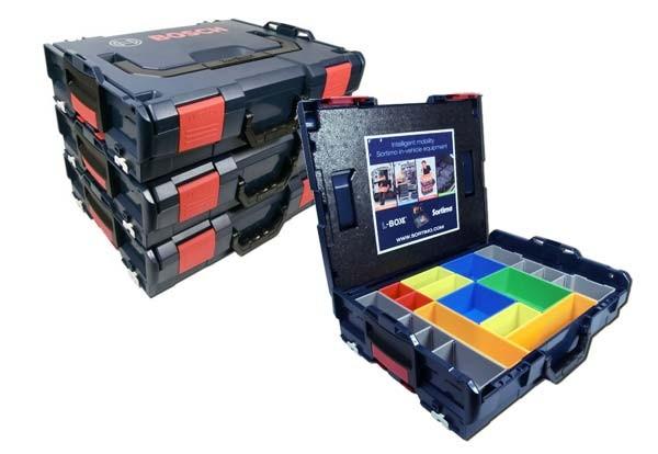Makita Entfernungsmesser Set : Bosch sortimo l boxx 102 inkl. insetboxenset h 3 3er set