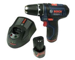 Bosch GSR 10,8-2-LI Akkuschrauber 2,0Ah 2 x Akku und Ladegerät mit Einlage