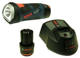Bosch GLI 10,8 V-LI Professional LED Akkulampe 2 x Akku und Ladegerät