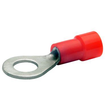Ring Kabel Schuh isoliert 0,5 - 6 mm², M 3 - M 12, Quetsch-Öse gelb blau rot – Bild 2