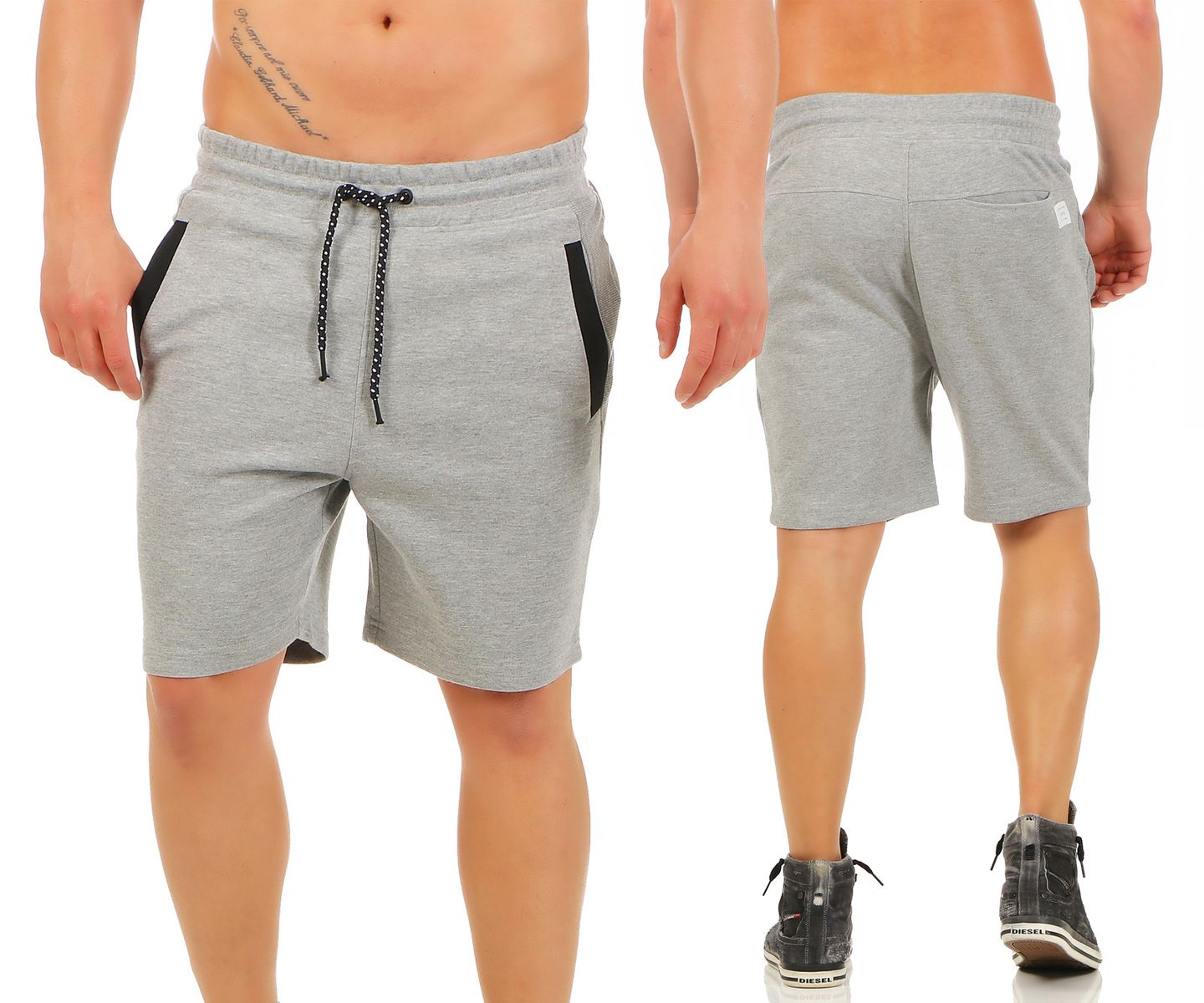 jack jones hose shorts jack sweat short bermuda kurze hose s m l xl ebay. Black Bedroom Furniture Sets. Home Design Ideas