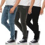 ONLY & SONS Jeans WARP8000 SCHWARZ BLAU GRAU Skinny Fit 001