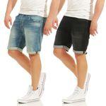 Jack & Jones RICKICON BASIC Jeans Shorts 001