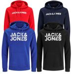 JACK & JONES KAPUZENPULLOVER JJECORP SWEAT HOOD 001
