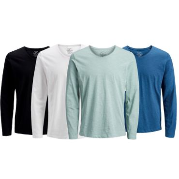 JACK & JONES JORBIRCH TEE LS V-NECK LONGSLEEVE