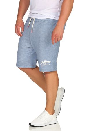 JACK & JONES MELANGE SWEAT SHORTS