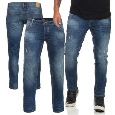 SOLID SLIM FIT HOSE JOY 2 DESTROY-LOOK JEANS