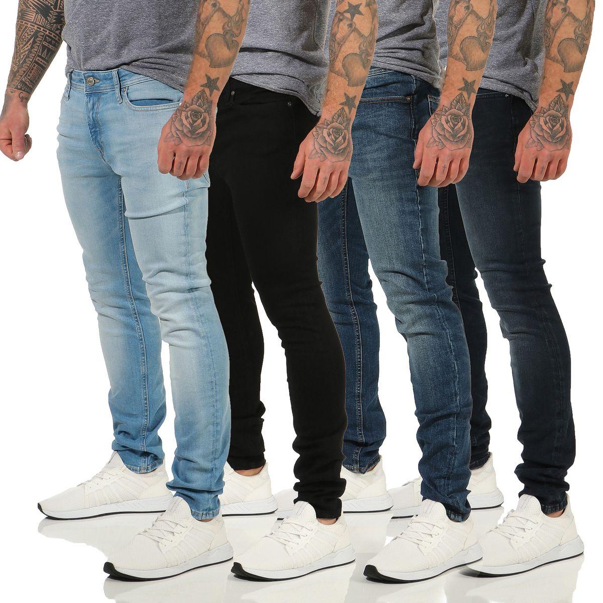 Jack /& Jones Herren Jeans jjiLIAM 014 in Dunkelblau
