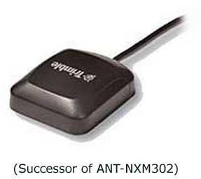 Alda PQ Antenne mit Magnetstandfuß für GPS, mit MCX/M Stecker