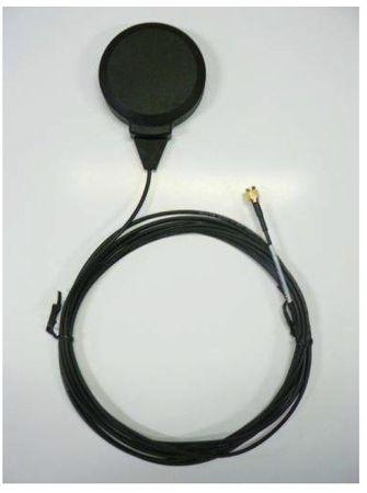 Alda PQ Antenne mit Magnetstandfuß für GPS, Glonass, Galileo, mit SMA/M Stecker