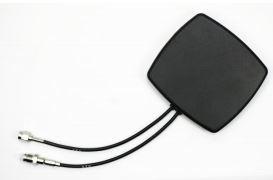 Alda PQ Antenne mit Magnetstandfuß für 2G/GSM, 3G/UMTS, Bluetooth, Wlan(Wifi 2,4GHz), mit SMA/M, RP-SMA/M Stecker und 2m Kabel