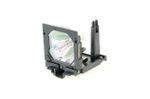 Alda PQ-Premium, Beamerlampe / Ersatzlampe für SANYO PLC-XF60 Projektoren, Lampe mit Gehäuse Bild 4