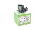 Alda PQ-Premium, Beamerlampe / Ersatzlampe für SANYO PLV-Z3000 Projektoren, Lampe mit Gehäuse
