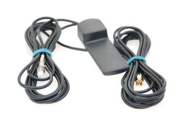 Alda PQ Antenne zur Glasbefestigung  für 2G (GSM), 3G (UMTS), GPS mit SMA/M und FME/F Stecker und 2,5m Kabel  – Bild 1