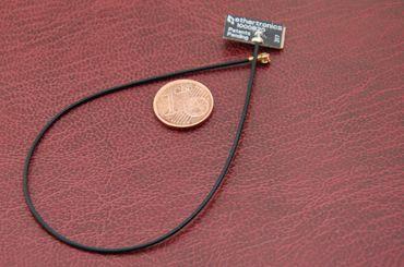 Alda PQ Platinenantenne für WIFI mit U.FL Stecker 4 dBi Gewinn – Bild 1