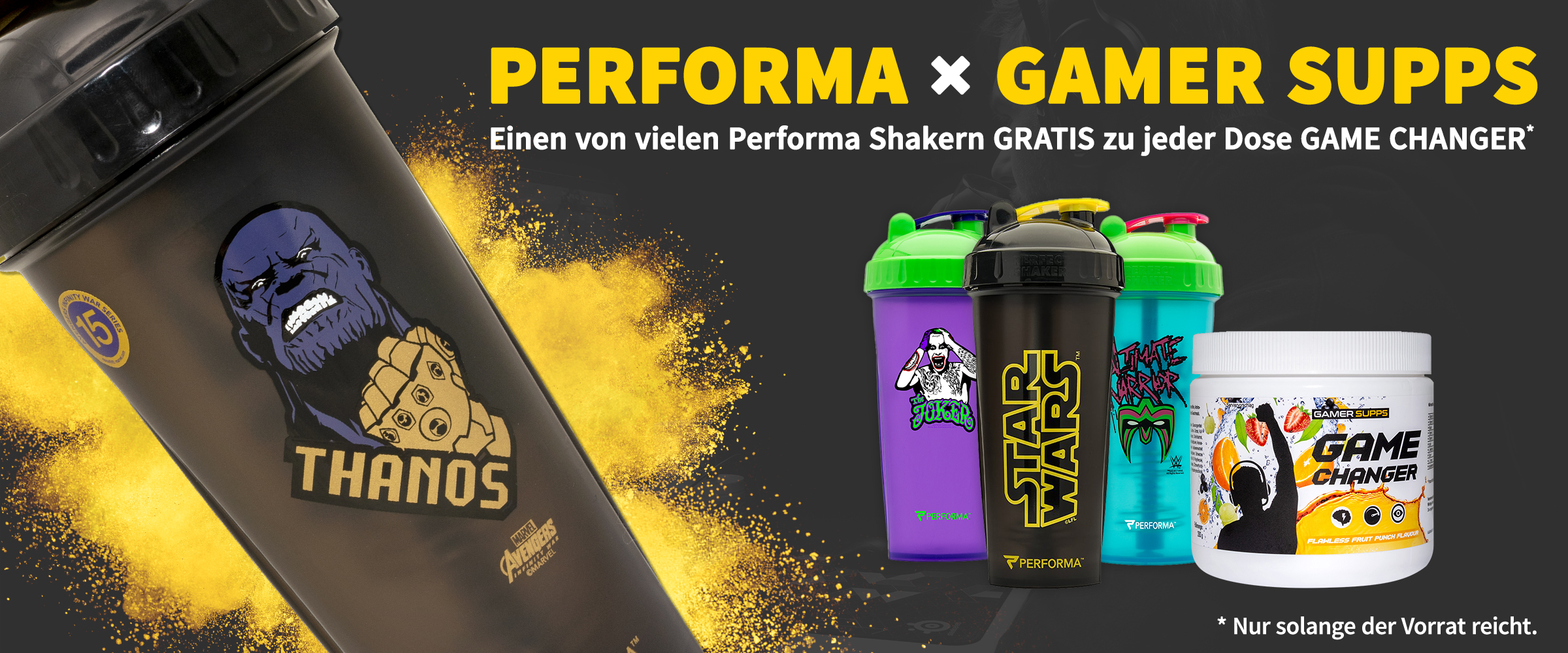 Performa x GAMER SUPPS