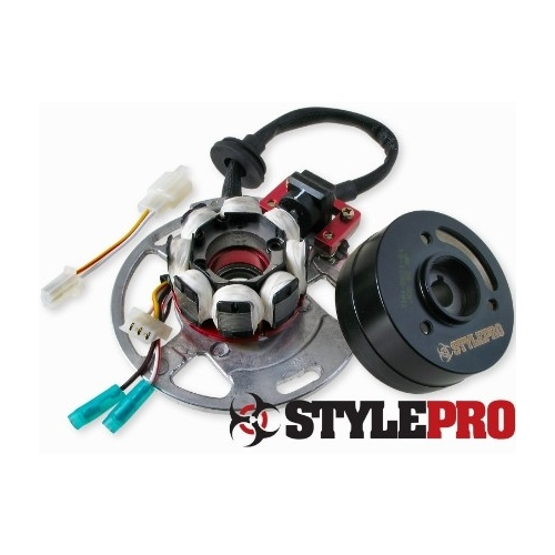 Zündung StylePro für Minarelli liegend (Yamaha Zündung) (ACHTUNG: CDI + ROTOR!)