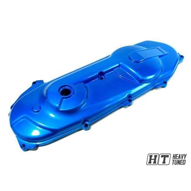 Motordeckel TNT Custom für Minarelli liegend / lang, blau