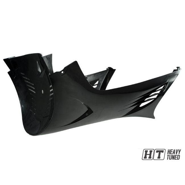 schwarz metallic Motorverkleidung TNT Links f/ür MBK//Yamaha Nitro//Aerox
